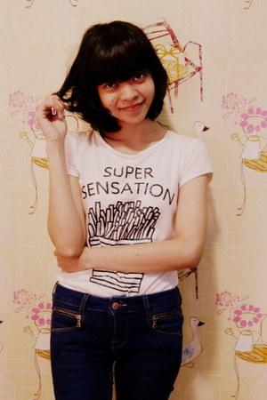 Bershka t-shirt - pull&bear jeans
