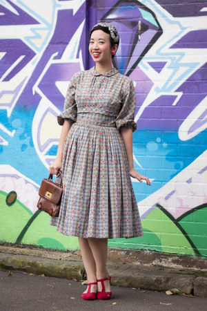 silver Lucky Dry Goods dress