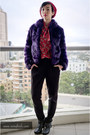 Black-seychelles-boots-deep-purple-faux-fur-asos-jacket