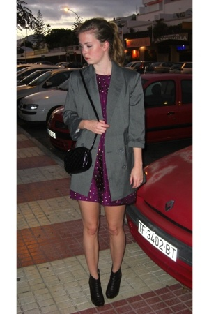 GINA TRICOT blazer - Forever21 dress