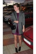 GINA TRICOT blazer - Forever21 dress