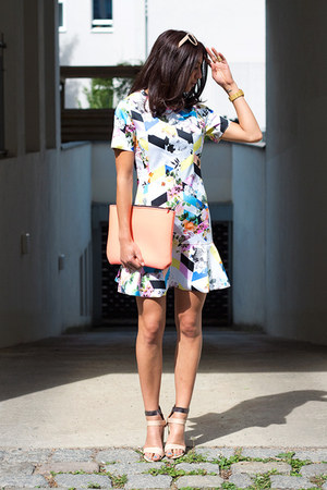 bubble gum Front Row Shop dress