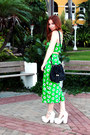 Black-duffle-asos-bag-white-asos-heels-chartreuse-pencil-asos-skirt