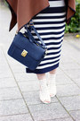 Navy-satchel-dahlia-bag-dark-brown-faux-leather-vanilia-cape