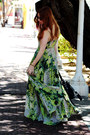Chartreuse-maxi-religion-dress-duffle-asos-bag-gold-round-asos-sunglasses
