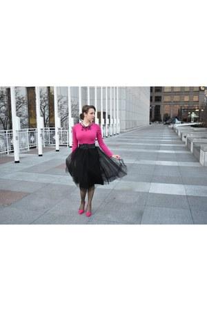 hot pink Nine West heels