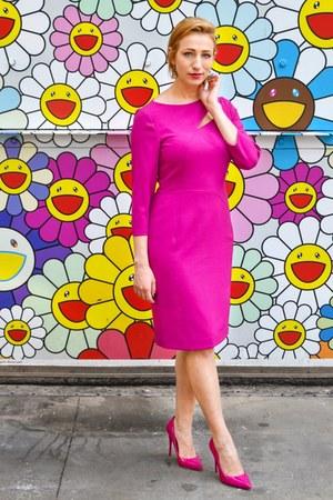 hot pink pink dress dress - hot pink Aldo heels