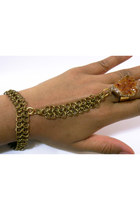citrine chain Nu Bambu bracelet