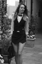 Zara shorts - Elisabetta Franchi shirt - Elisabetta Franchi vest