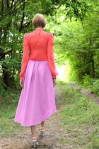 amethyst Accessorize skirt - hot pink lipsy blouse