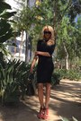 Black-dress-black-h-m-bag-ebay-sunglasses-red-zara-heels