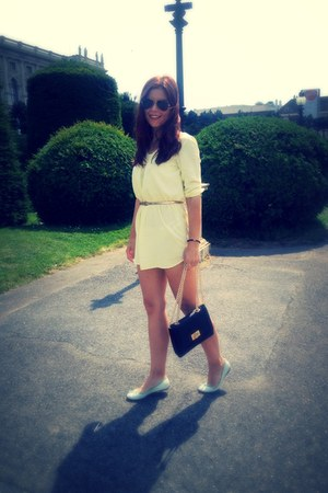 Vero Moda dress - Aldo bag - Ray Ban sunglasses