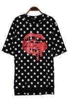 Oasap-t-shirt