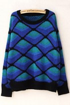 Fireside Rhombus Graphic Sweater