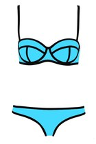 Swingy Ribbon Textured Bikini Swimsuit