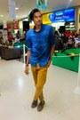Dark-brown-boggi-shoes-blue-renner-shirt-reveste-accessories