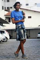 Adidas shoes - Requesent 3 jacket - Jezzian shorts - Greenish t-shirt