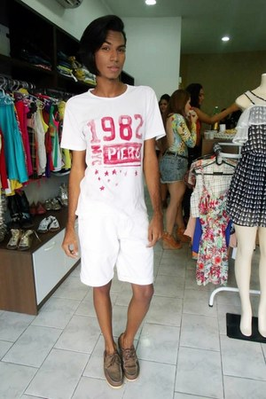white Dmarkas skirt