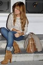 Uterqe sweater - Ralph Lauren pants - Uterqe boots - LOTTUSSE