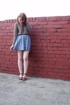 H&M skirt - H&M jumper - H&M heels