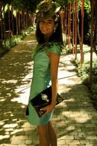 aquamarine wwwgeordiecreationscom bag - aquamarine Paco Racionero dress