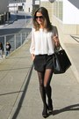 Black-pilar-burgos-shoes-black-prada-bag-black-forever-21-shorts