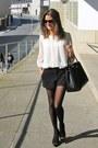 Black-pilar-burgos-shoes-black-prada-bag-black-forever-21-shorts