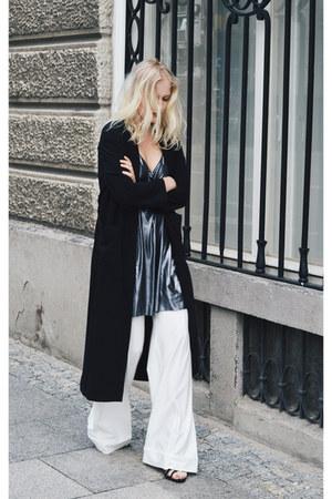Stradivarius dress - H&M coat