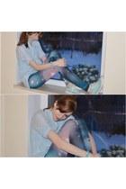 blue Tally Weijl shirt