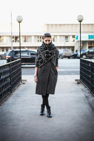cotton Dalmatinboutique scarf - cotton Malloni jacket