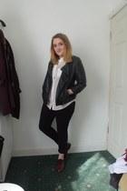 Primark jacket - next jeans - Primark shirt - H&M flats