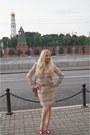 Hot-pink-asos-shoes-gold-soft-grey-jacket-brown-soft-grey-bag