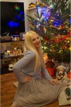 blue Mademoiselle R sweater - blue Mademoiselle R skirt
