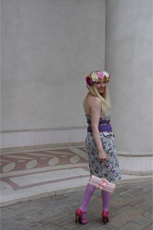 bubble gum flower asos hair accessory - hot pink pink   shoes La Redoute shoes