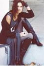 Black-boots-gray-ying-fringe-your-eyes-lie-dress-black-jacket-gray-tights