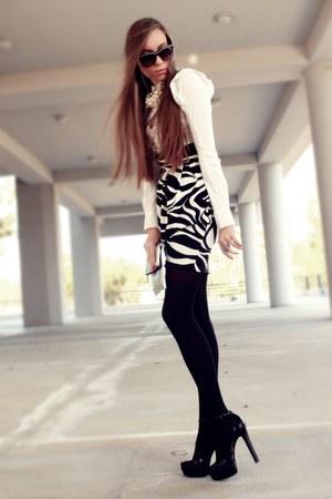 Jane Norman skirt - calvin klein blouse - Aldo heels