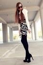 Calvin-klein-blouse-jane-norman-skirt-aldo-heels