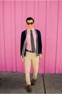 Brown-oxfords-steve-madden-shoes-pink-button-down-original-penguin-shirt