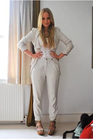 Zara jacket - Zara pants - Valley Girl t-shirt - Gap shoes