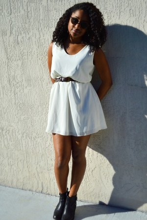 white In Love with Fashion dress