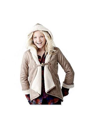 beige olsenboye jacket