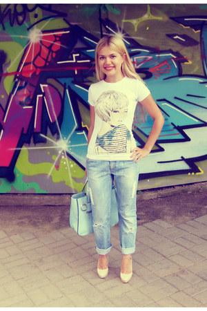 Sisley jeans - Aldo heels