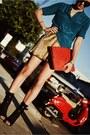 Black-jean-michel-cazabat-shoes-red-clutch-camille-zarsky-bag
