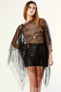 Black-thriftednet-top-black-vintage-shorts-black-jeffrey-campbell-shoes