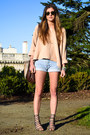 Gray-strappy-sandals-deena-ozzy-shoes-neutral-vintage-sweater-light-blue-v