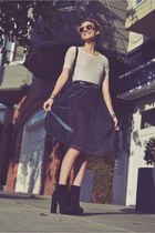 Anarchy Street skirt - Bebe boots - Alexander Wang bag