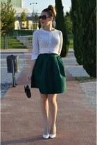 forest green Aliexpress skirt