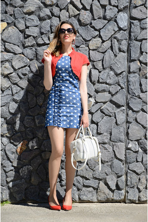 sky blue Mayday dress