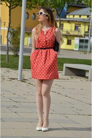 red Compania Fantastica dress