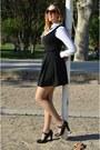 Black-bershka-dress